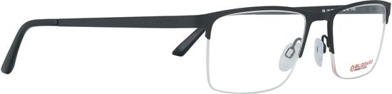 Obrázek z dioptrické brýle BLIZZARD Frame, black, 55-19/140