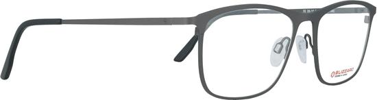 Obrázek z dioptrické brýle BLIZZARD Frame, gun, 54-17/140