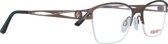 Obrázek z dioptrické brýle BLIZZARD Frame, brown, 51-18/135