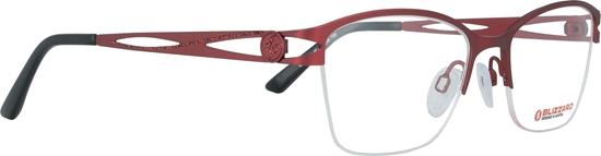 Obrázek z dioptrické brýle BLIZZARD Frame, red, 51-18/135
