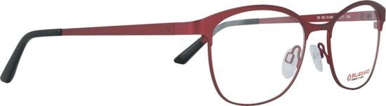 Obrázek z dioptrické brýle BLIZZARD Frame, matt red/shiny red, 52-17/135
