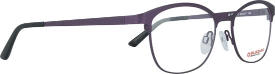 Obrázek z dioptrické brýle BLIZZARD Frame, matt purple/shiny purple, 52-17/135