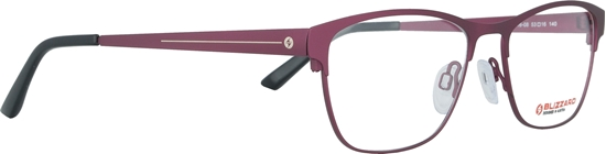 Obrázek z dioptrické brýle BLIZZARD Frame, red, 53-16/140