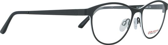 Obrázek z dioptrické brýle BLIZZARD Frame, black/white, 52-16/135