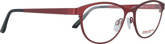 Obrázek z dioptrické brýle BLIZZARD Frame, shiny ferari red, 52-16/135