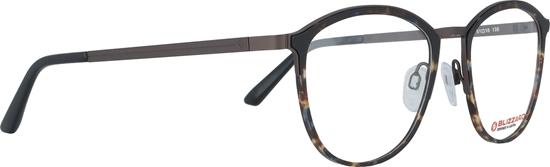 Obrázek z dioptrické brýle BLIZZARD Frame, dark brown/brown, 51-18/135