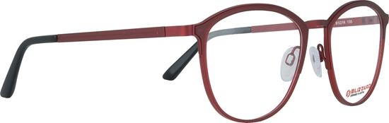 Obrázek z dioptrické brýle BLIZZARD Frame, red/dark red, 51-18/135
