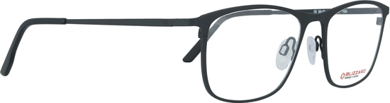 Obrázek z dioptrické brýle BLIZZARD Frame, black, 52-17/135
