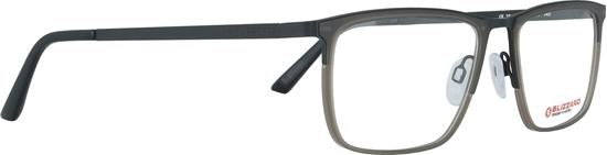 Obrázek z dioptrické brýle BLIZZARD Frame, black/grey, 53-17/140