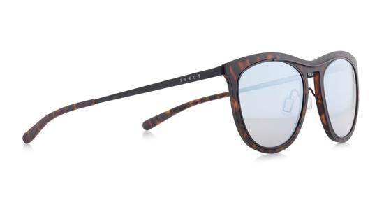 Obrázek z sluneční brýle SPECT Sun glasses, SURRYHILLS-001P, havanna, green gradient with silver flash POL, 51-19-140