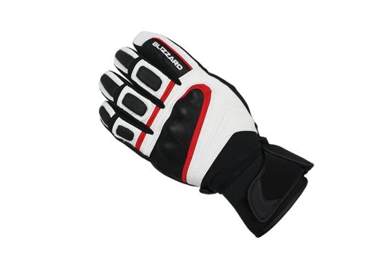 Obrázek z lyžařské rukavice BLIZZARD Competition ski gloves, black/white/red, AKCE