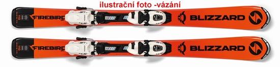 Obrázek z sjezdové lyže BLIZZARD FIREBIRD JR, 18/19 + vázání Tyrolia SRM 4.5 AC, 18/19