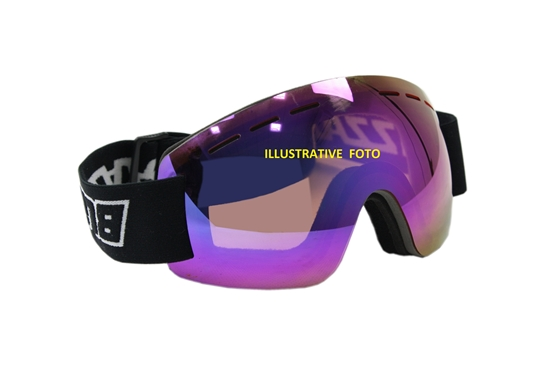 Obrázek z lyžařské brýle BLIZZARD Ski Gog. MF01 DAVZS, smoke2, blue mirror