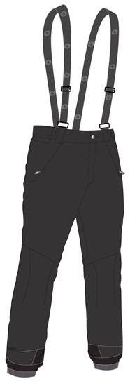 Obrázek z lyžařské kalhoty BLIZZARD Mens Ski Pants Ischgl, black