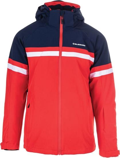 Obrázek z lyžařská bunda BLIZZARD Mens Jacket Arabba, blackblue/redorange/white, AKCE