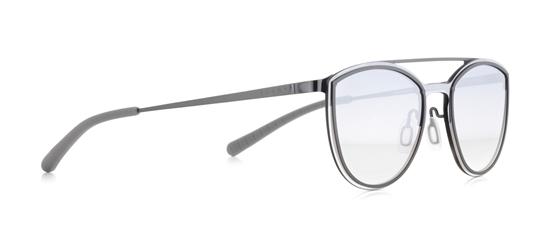 Obrázek z sluneční brýle SPECT ELECTRA-002, gun/grey/smoke gradient with gradient silver flash, 124-0-140