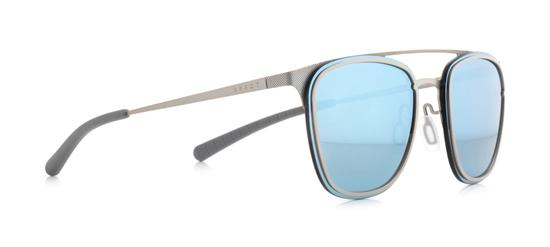 Obrázek z sluneční brýle SPECT ENCINO-002P, olive green/light grey/smoke with silver mirror POL, 55-18-140