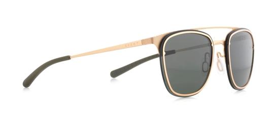 Obrázek z sluneční brýle SPECT ENCINO-003P, gold/olive green/green POL, 55-18-140