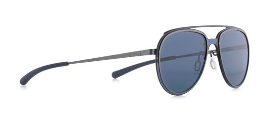 Obrázek z sluneční brýle SPECT EVENS-001, gun/dark blue/blue, 130-0-140