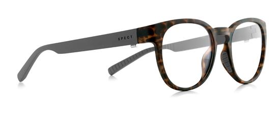 Obrázek z brýlové obruby SPECT Frame, KIND-005, brown pattern, black, 49-20-140