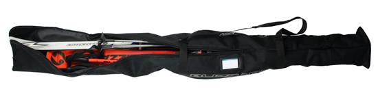 Obrázek z vak na lyže BLIZZARD Ski + XC bag for 2 pairs, black, 210 cm