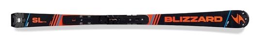 Obrázek z sjezdové lyže BLIZZARD SL FIS Racing + WC plate, R>12 m, 17/18