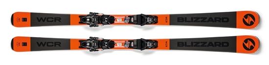 Obrázek z sjezdové lyže BLIZZARD WCR, grey/orange, rental, 18/19 + vázání TLT 10 DEMO, black/anthr., 18/19