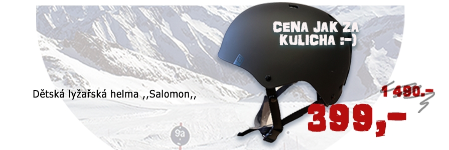 Salomon lyžařská helma