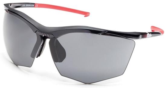 Obrázek z sluneční brýle RH+ Super Stylus, black/red, grey + orange lens