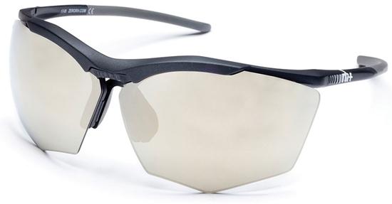 Obrázek z sluneční brýle RH+ Super Stylus, black/grey, smoke flash light gold/silver + orange lens