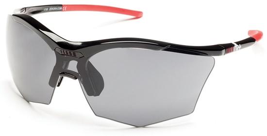 Obrázek z sluneční brýle RH+ Ultra Stylus, black/grey, grey+orange lens
