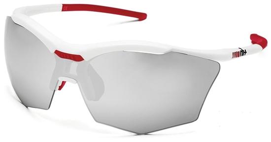 Obrázek z sluneční brýle RH+ Ultra Stylus, white/red, varia grey lens