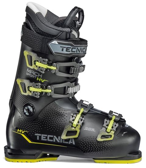 Obrázek z lyžařské boty TECNICA Mach Sport HV 80, black/neon yellow, 19/20