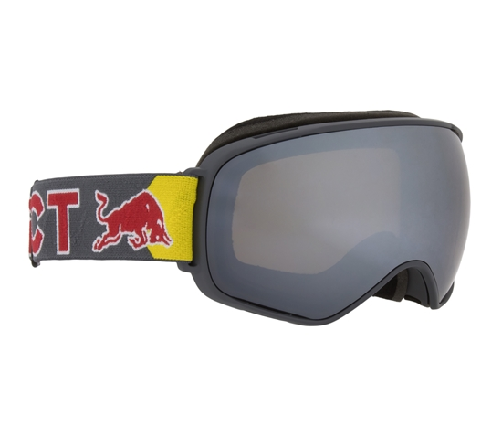 Obrázek z lyžařské brýle RED BULL SPECT Goggles, ALLEY OOP-014, olive green frame/white headband, lens: yellow snow CAT2,grey with yellow mirror