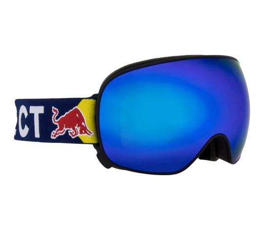 Obrázek z lyžařské brýle RED BULL SPECT Goggles, MAGNETRON-016, matt red frame/olive green headband, lens: red snow CAT3