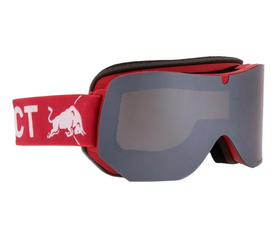 Obrázek z lyžařské brýle RED BULL SPECT Goggles, CLYDE-008, matt grey frame/grey headband, lens: yellow snow CAT2