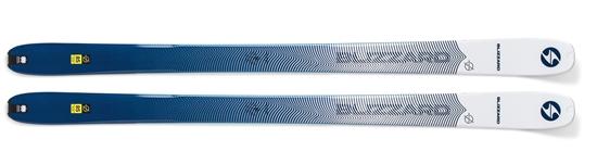 Obrázek z sjezdové lyže BLIZZARD Zero G 085, yellow/blue, flat, 19/20