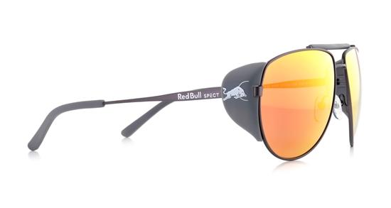 Obrázek z sluneční brýle RED BULL SPECT RB SPECT Sun glasses, GRAYSPEAK-003P, gun/smoke with red mirror POL, 61-15-138