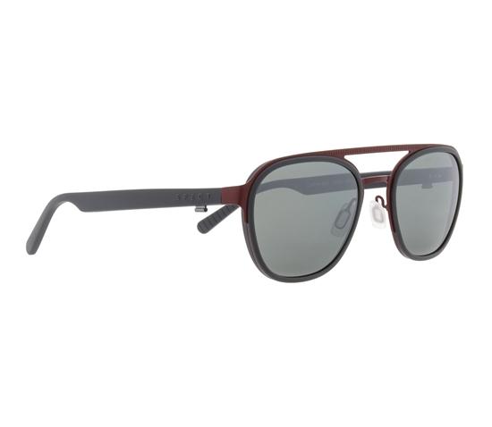 Obrázek z sluneční brýle SPECT Sun glasses, CLIFTON-001P, burgundy, green with silver flash POL, 52-22-145