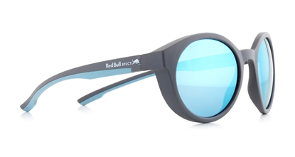 Obrázek sluneční brýle RED BULL SPECT RB SPECT Sun glasses, SNAP-005P, anthracite/smoke with blue flash POL, 52-21-145