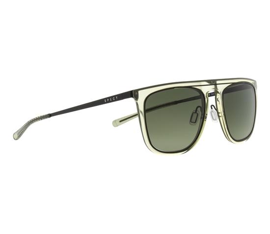 Obrázek z sluneční brýle SPECT Sun glasses, COOGEE-003P, transparent green, green gradient POL, 53-20-145