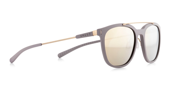 Obrázek z sluneční brýle SPECT Sun glasses, SATHORN-002P, warm grey, brown with gold revo POL, 52-19-145