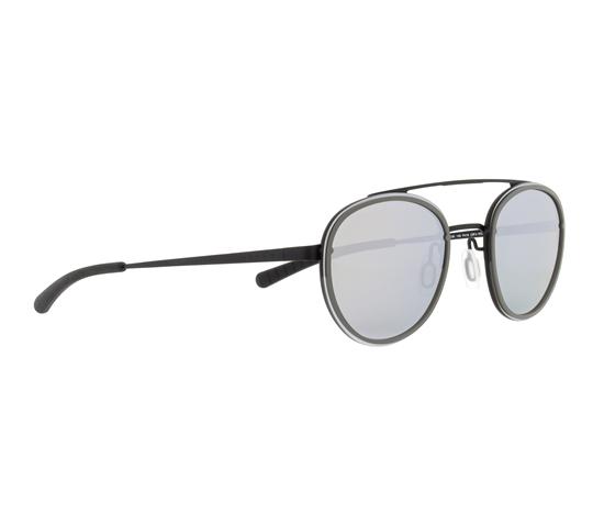 Obrázek z sluneční brýle SPECT CORALBAY-001P, grey/black/smoke with silver mirror POL, 53-20-140