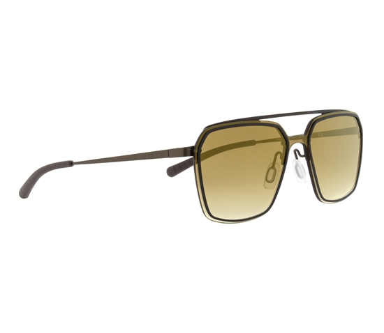 Obrázek z sluneční brýle SPECT Sun glasses, CLEARWATER-004, gold, brown, brown gradient with gold flash, 130-0-140