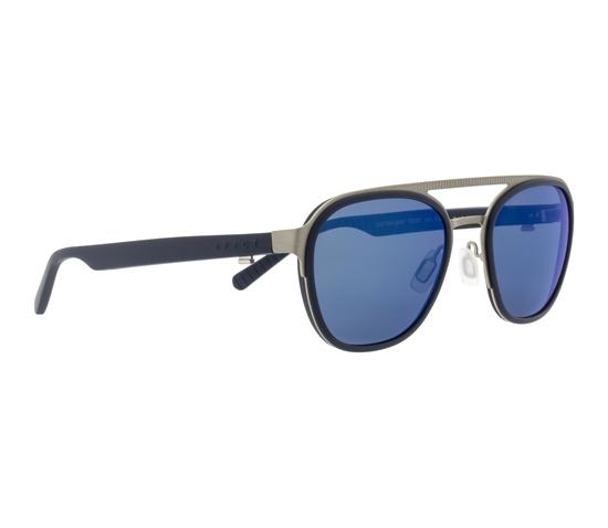 Obrázek z sluneční brýle SPECT Sun glasses, CLIFTON-002P, silver, smoke with blue mirror POL, 52-22-145