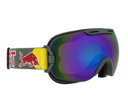 Obrázek lyžařské brýle RED BULL SPECT Goggles, SLOPE-006, matt olive green frame/olive green headband, lens: green snow CAT3
