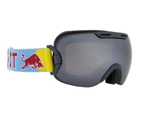 Obrázek z lyžařské brýle RED BULL SPECT Goggles, SLOPE-005, matt grey frame/brght blue hradband, lens: silver snow CAT3