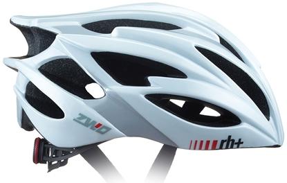 Obrázek helma RH+ ZW0, shiny white/matt silver