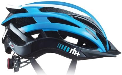 Obrázek helma RH+ Z2in1, shiny salina azure/shiny white/shiny black