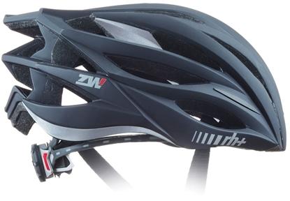 Obrázek helma RH+ ZW, matt black/bridge matt dark silver